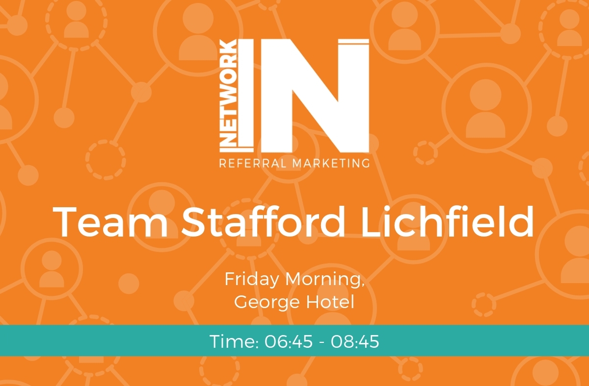 Graphic for NetworkIN Team Lichfield, Staffordshire.