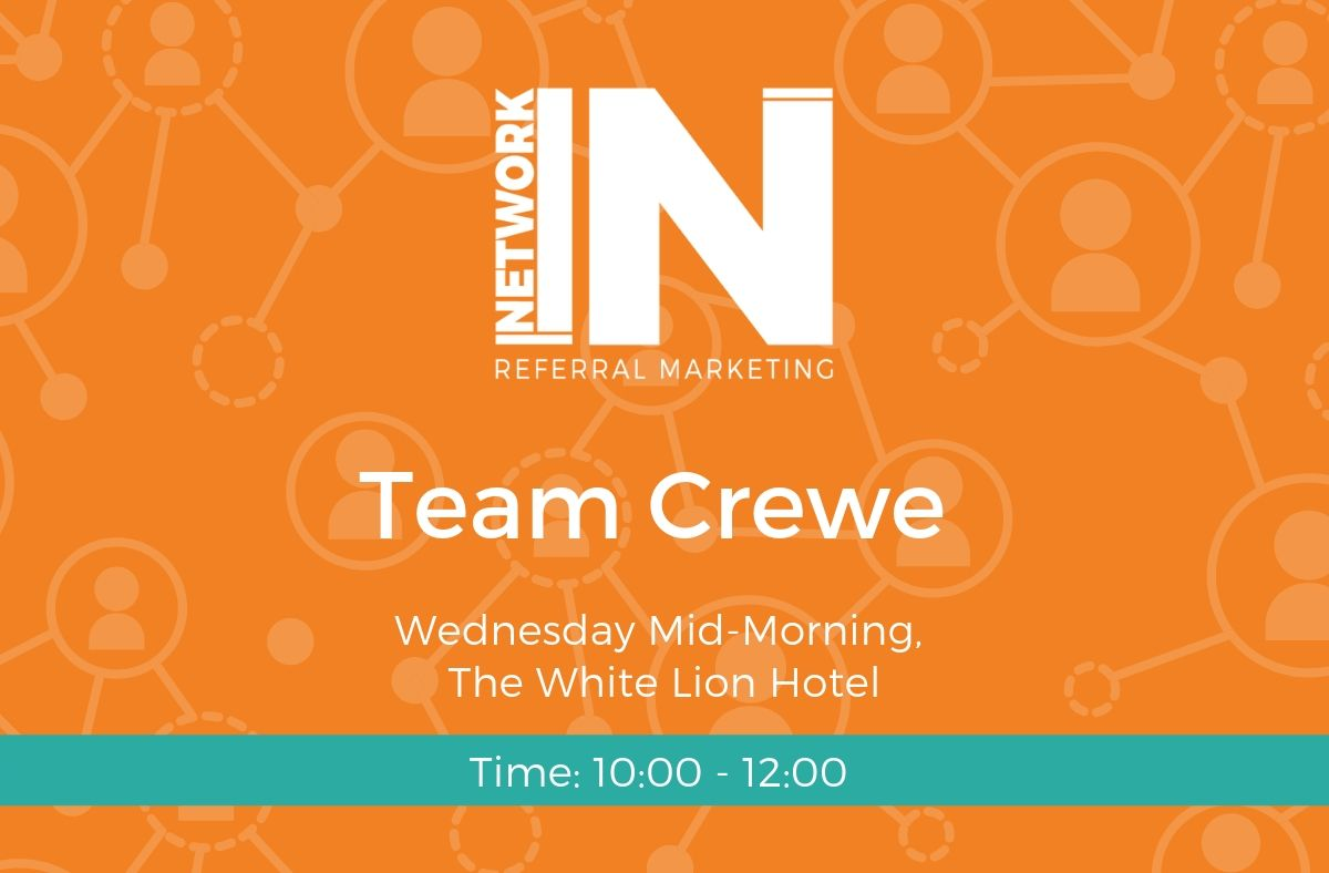 Graphic for NetworkIN's Team Crewe in Cheshire