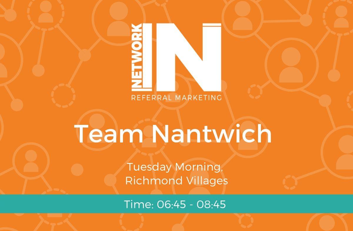 Team Nantwich Cheshire, NetworkIN