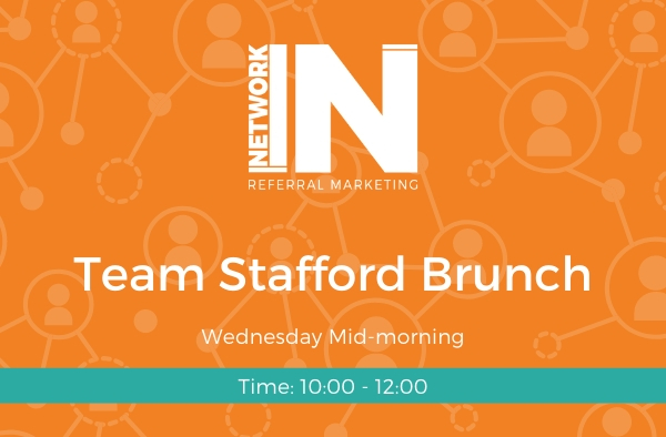 NetworkIN Team Stafford Brunch meeting graphic