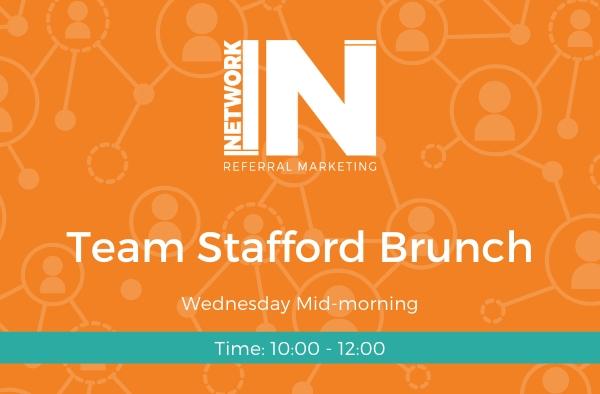 NetworkIN Team Stafford Brunch meeting graphic