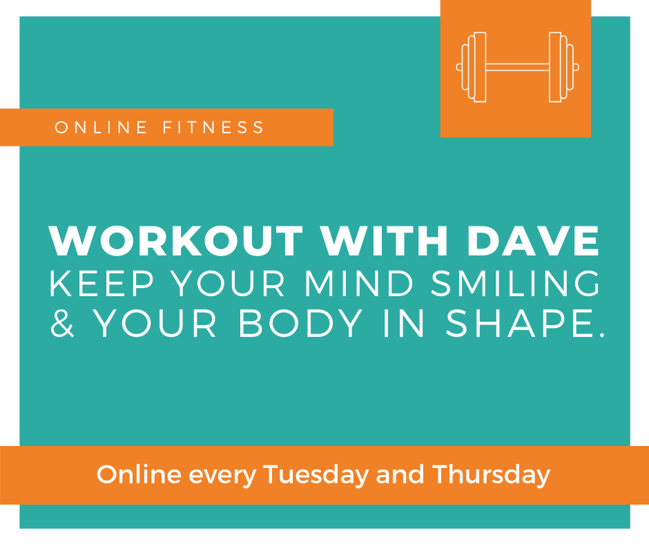 Online fitness class in Staffodshire