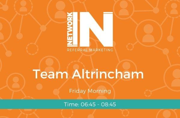 Altrincham NetworkIN team graphic