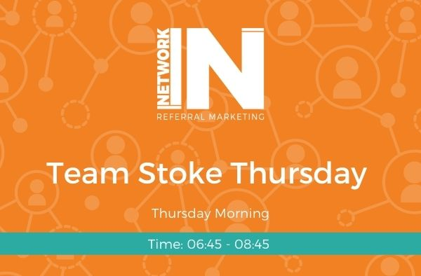 NetworkIN Team Stoke Thursday meeting graphic