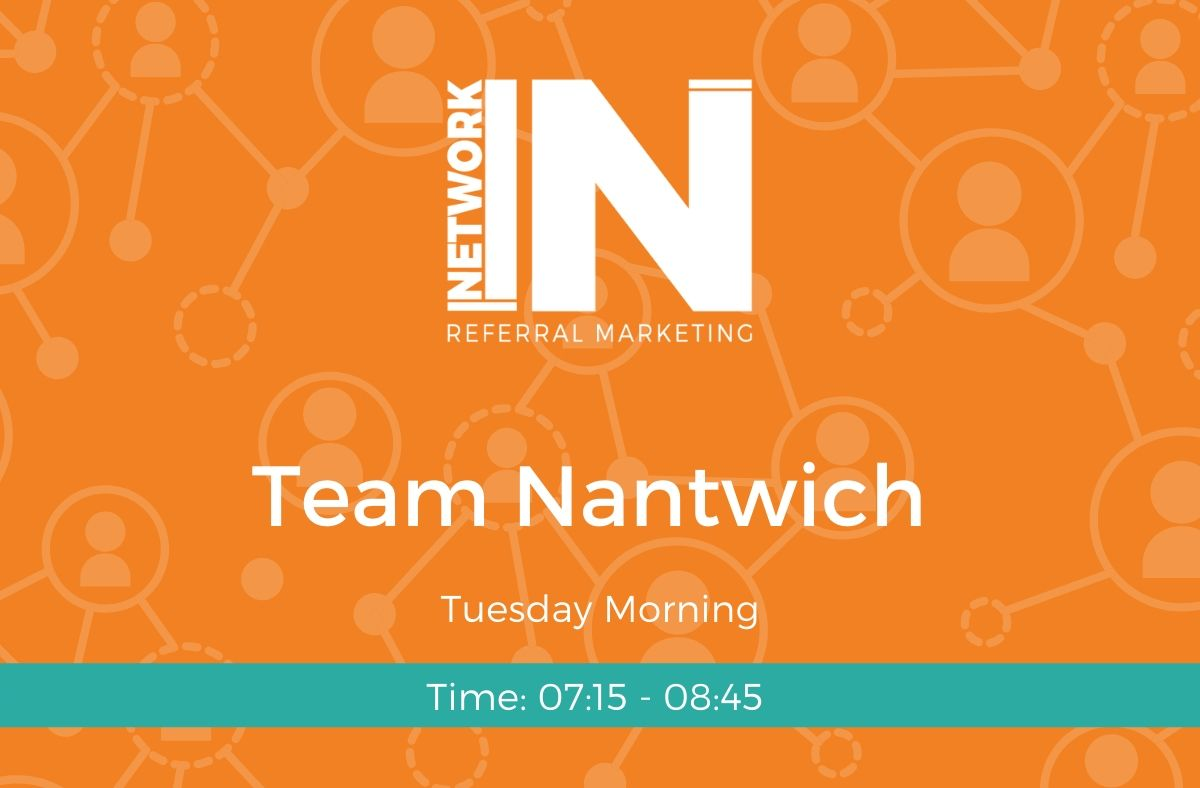 Team Nantwich Tuesday online meeting graphic