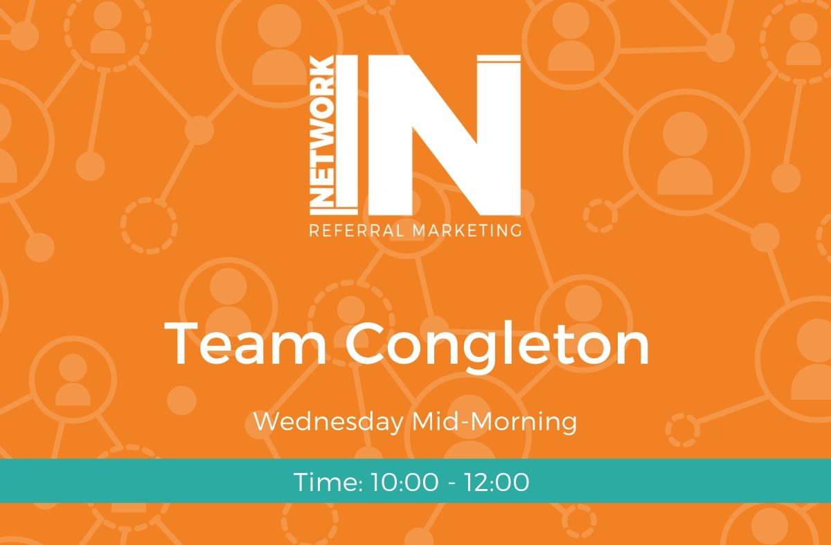 Congleton NetworkIN team graphic