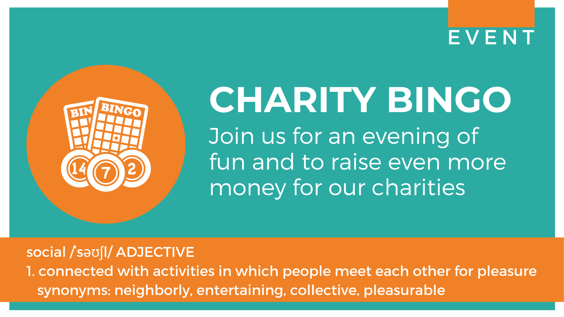 Eyes down for the NetworkIN charity bingo event