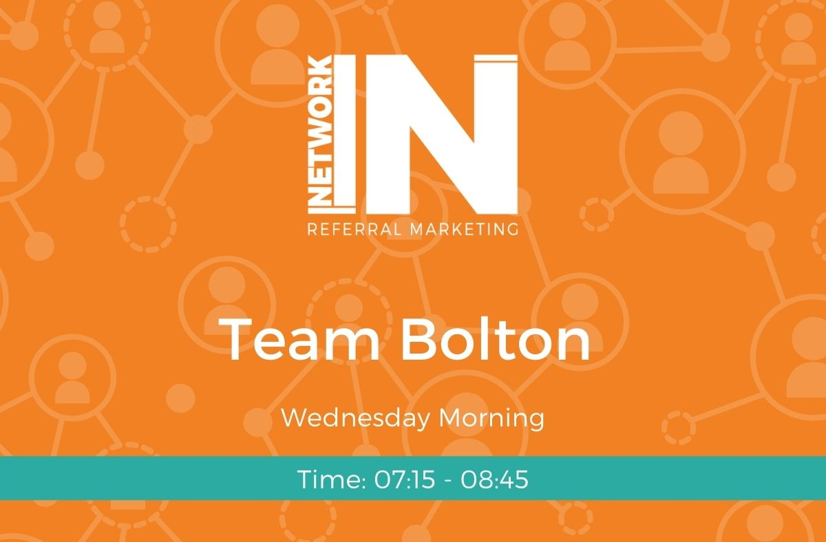 Bolton NetworkIN team graphic