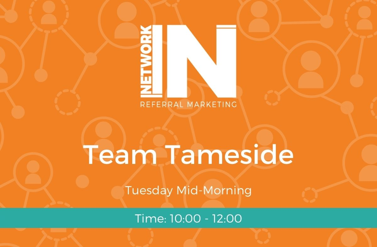 Tameside NetworkIN team graphic