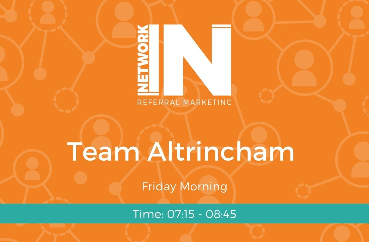 Altrincham NetworkIN team graphic