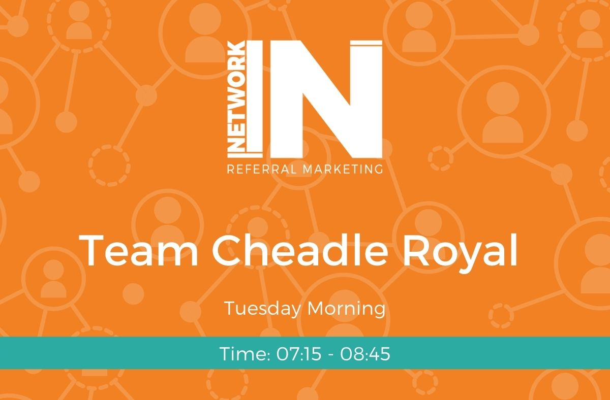 Cheadle Royal NetworkIN team graphic
