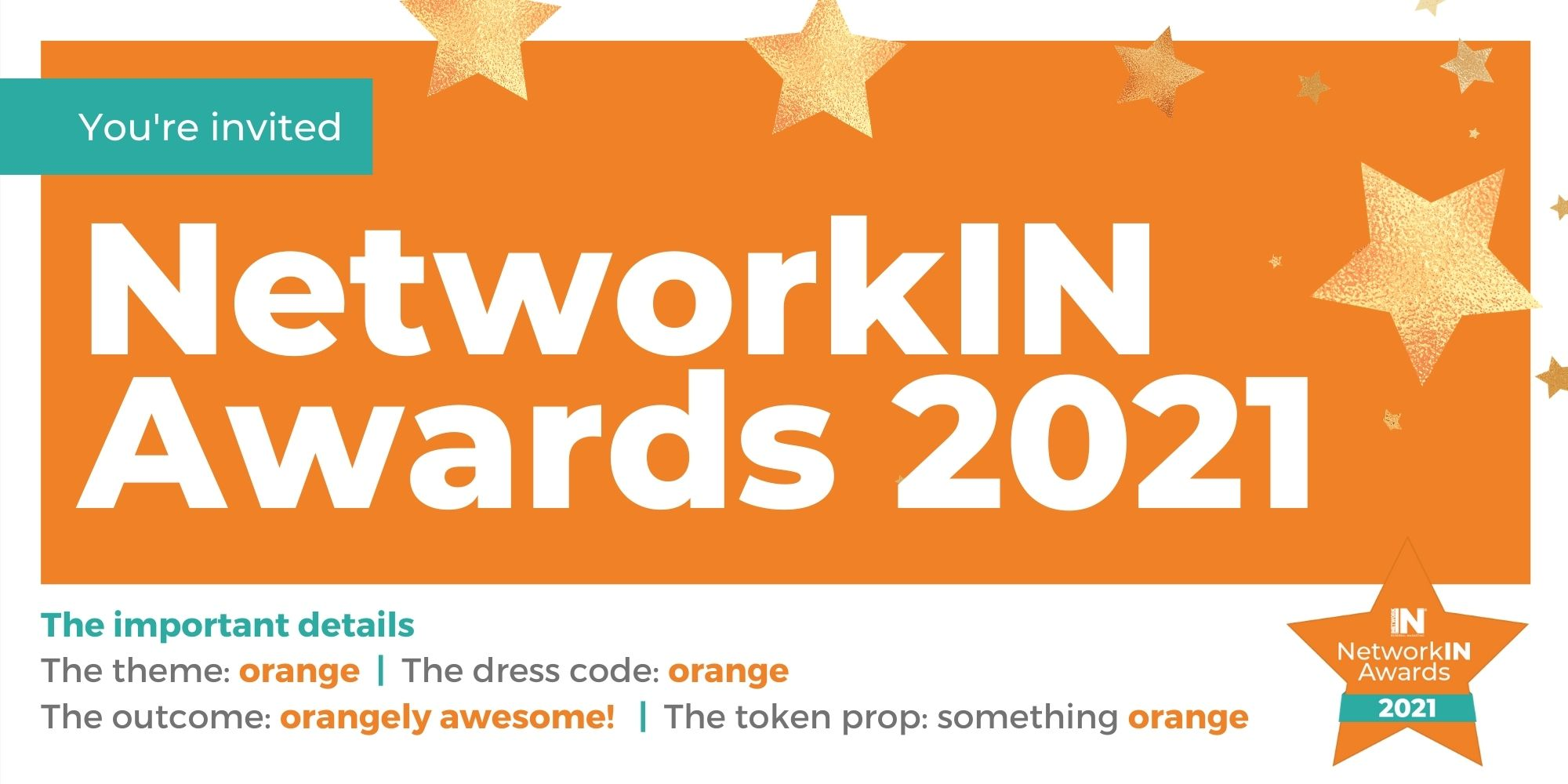 NetworkIN Awards 2021 event
