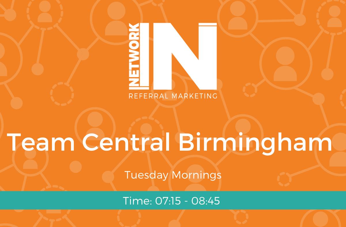 NetworkIN Team Central Birmingham Banner