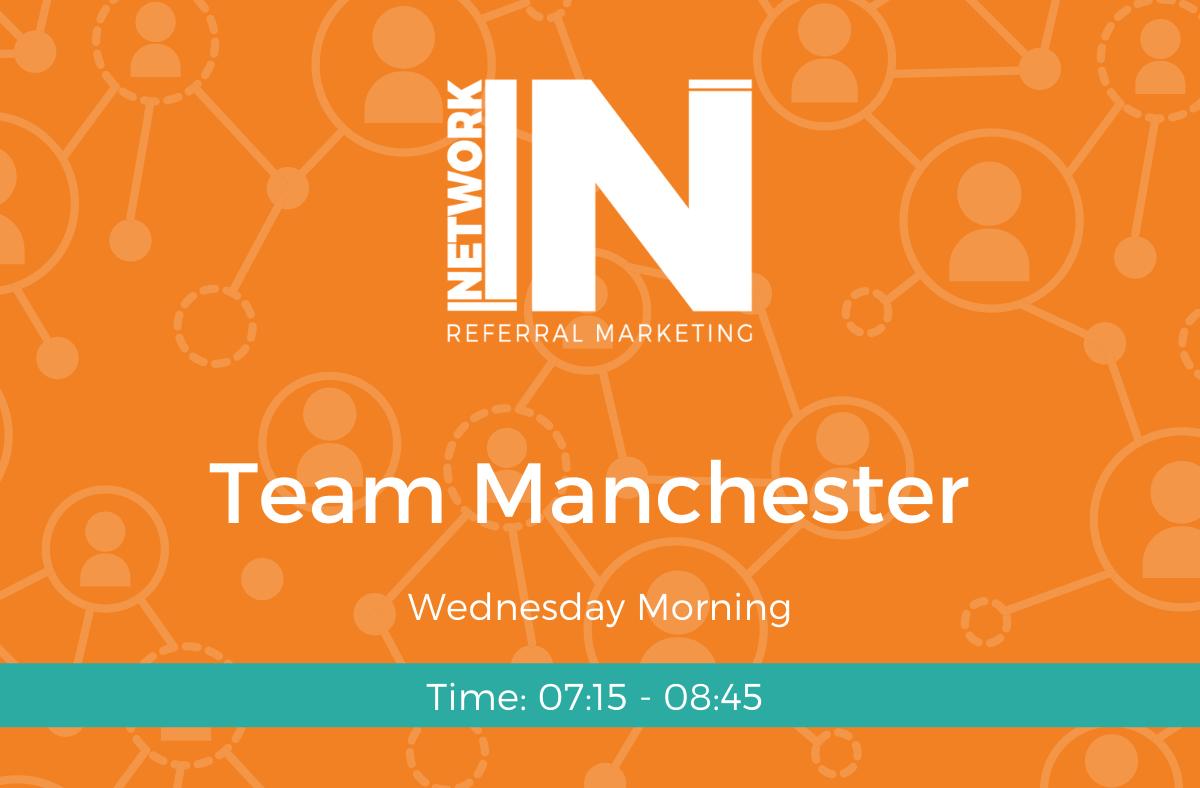 Networkin team manchester meeting header