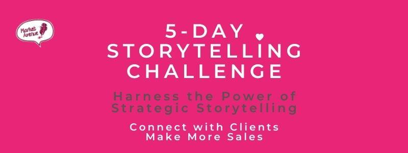 Storytelling challenge header