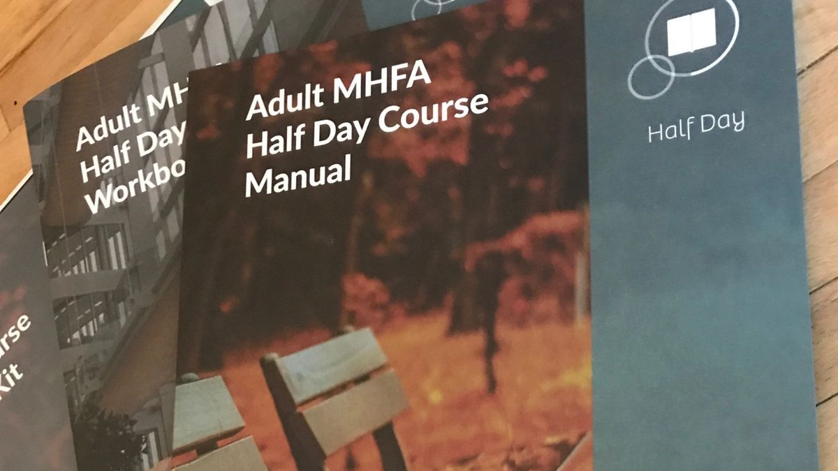 Mental health aware - half day course training materials